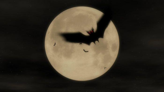 'Bat Attack 1' - Halloween Party Motion Background Loop_SampleStill