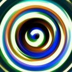 'Bjorn' - Concentric Colorful Circles Motion Background Loop_Sample2