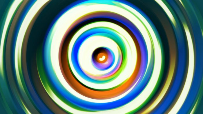 'Bjorn' - Concentric Colorful Circles Motion Background Loop_SampleStill