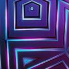 'Bladetronic' - Futuristic Kaleidoscope Motion Background Loop_Sample2