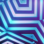'Bladetronic' - Futuristic Kaleidoscope Motion Background Loop_SampleStill