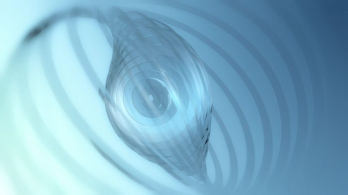 'Cirglas' - Glass-like 3D Rings Motion Background Loop_SampleStill