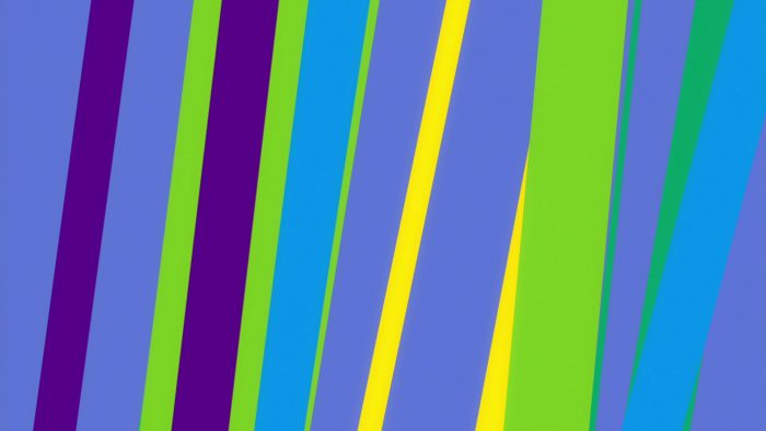 'Color Stripes 1' - Moving Colorful Bars Motion Background Loop_SampleStill