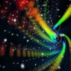'ColorTwist 1' - Abstract Colorful Circles Motion Background Loop_Sample2