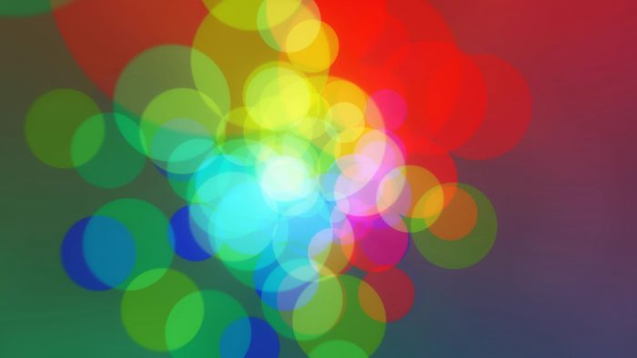 'Colorcles' - Colorful Circles Motion Background Loop_SampleStill