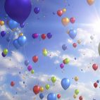 'Colorful Balloons' - Festive And Party Motion Background Loop_Sample2