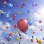 'Colorful Balloons' - Festive And Party Motion Background Loop_Sample3