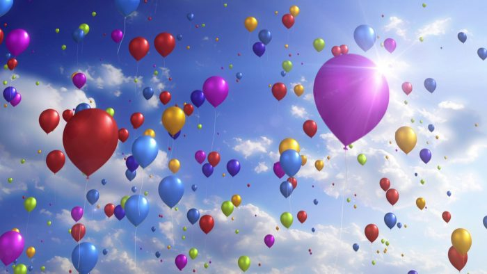 'Colorful Balloons' - Festive And Party Motion Background Loop_SampleStill