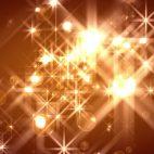 'FlOrbs' - Glamorous Golden Christmas Motion Background Loop_Sample2