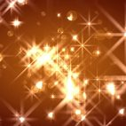 'FlOrbs' - Glamorous Golden Christmas Motion Background Loop_Sample3
