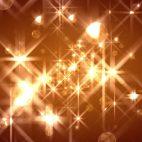 'FlOrbs' - Glamorous Golden Christmas Motion Background Loop_SampleStill