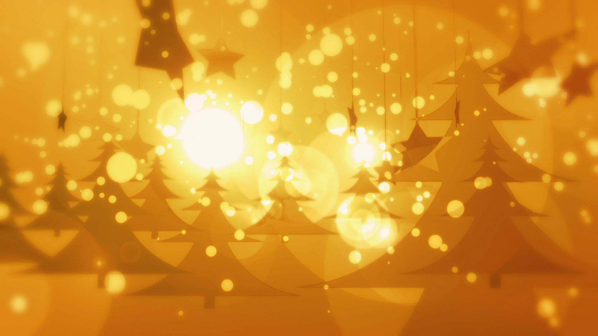 golden christmas downloops creative motion backgrounds