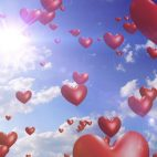 'Heart Balloons' - Romantic And Wedding Motion Background Loop_Sample2