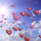 'Heart Balloons' - Romantic And Wedding Motion Background Loop_Sample3