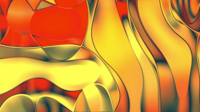 'Hoog' - Organic Chrome-like Motion Background Loop_SampleStill