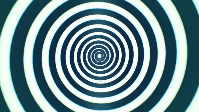 'Hypnotic Spiral 1' - Hypnosis Meditation Motion Background Loop_SampleStill