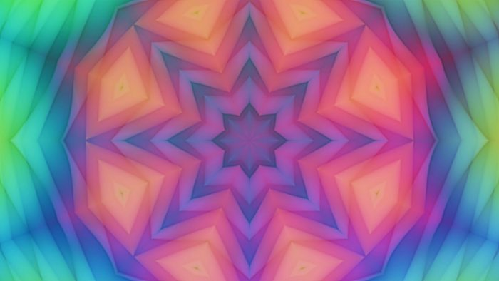 'Kailey' - Colorful Kaleidoscopic Motion Background Loop_SampleStill