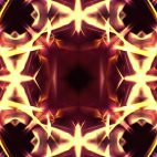 'Kaleidoscope 2' - Ornamental Kaleidoscopic Motion Background Loop_Sample3
