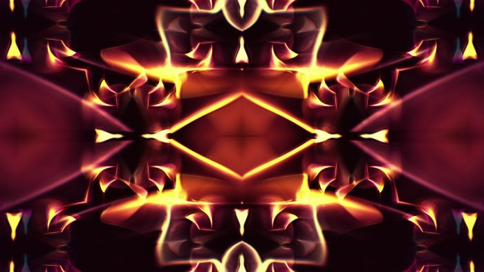 'Kaleidoscope 2' - Ornamental Kaleidoscopic Motion Background Loop_SampleStill