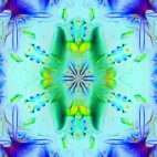 'Kaleidoscope 3' - Ornamental Colorful Kaleidoscopic Motion Background Loop_Sample2
