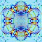 'Kaleidoscope 3' - Ornamental Colorful Kaleidoscopic Motion Background Loop_Sample3