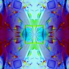 'Kaleidoscope 3' - Ornamental Colorful Kaleidoscopic Motion Background Loop_SampleStill