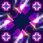 'Kaleidoscope 5' - Ornamental Kaleidoscopic Motion Background Loop_Sample3