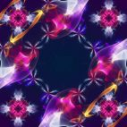 'Kaleidoscope 5' - Ornamental Kaleidoscopic Motion Background Loop_SampleStill