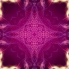 'Kaleidoscope 7' - Purple Ornamental Motion Background Loop_Sample2