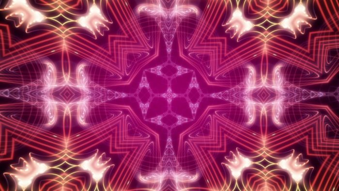 'Kaleidoscope 7' - Purple Ornamental Motion Background Loop_SampleStill
