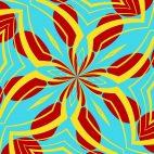 'Kaleidoscope 8' - Kaleidoscopic Fun Motion Background Loop_SampleStill