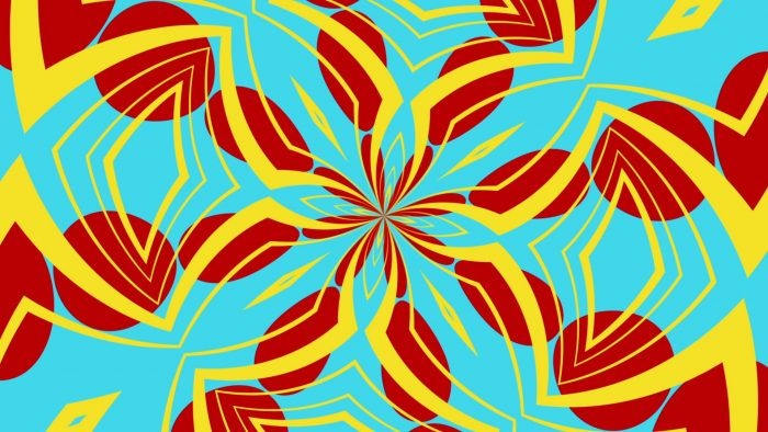 'Kaleidoscope 8' - Kaleidoscopic Fun Motion Background Loop_SampleStill