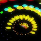 'Lucy' - Colorful Dots Motion Background Loop_Sample2
