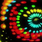 'Lucy' - Colorful Dots Motion Background Loop_Sample3