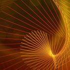 'Martha' - Abstract Golden Lines Motion Background Loop_Sample2