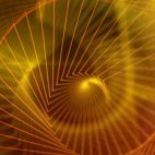 'Martha' - Abstract Golden Lines Motion Background Loop_SampleStill