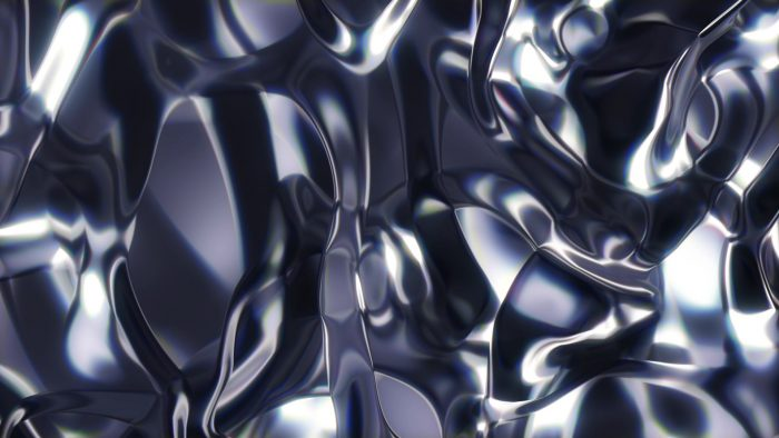 'Metaliq 3' - Flowing Metal Texture Motion Background Loop_SampleStill