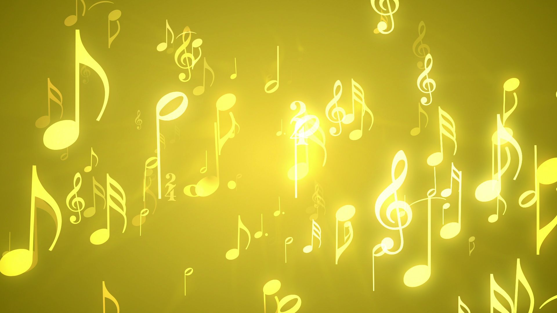 background musical music notes gold themed backgrounds motion choir downloops loop golden looping creative wallpapertag seamlessly freeze resolution frame still