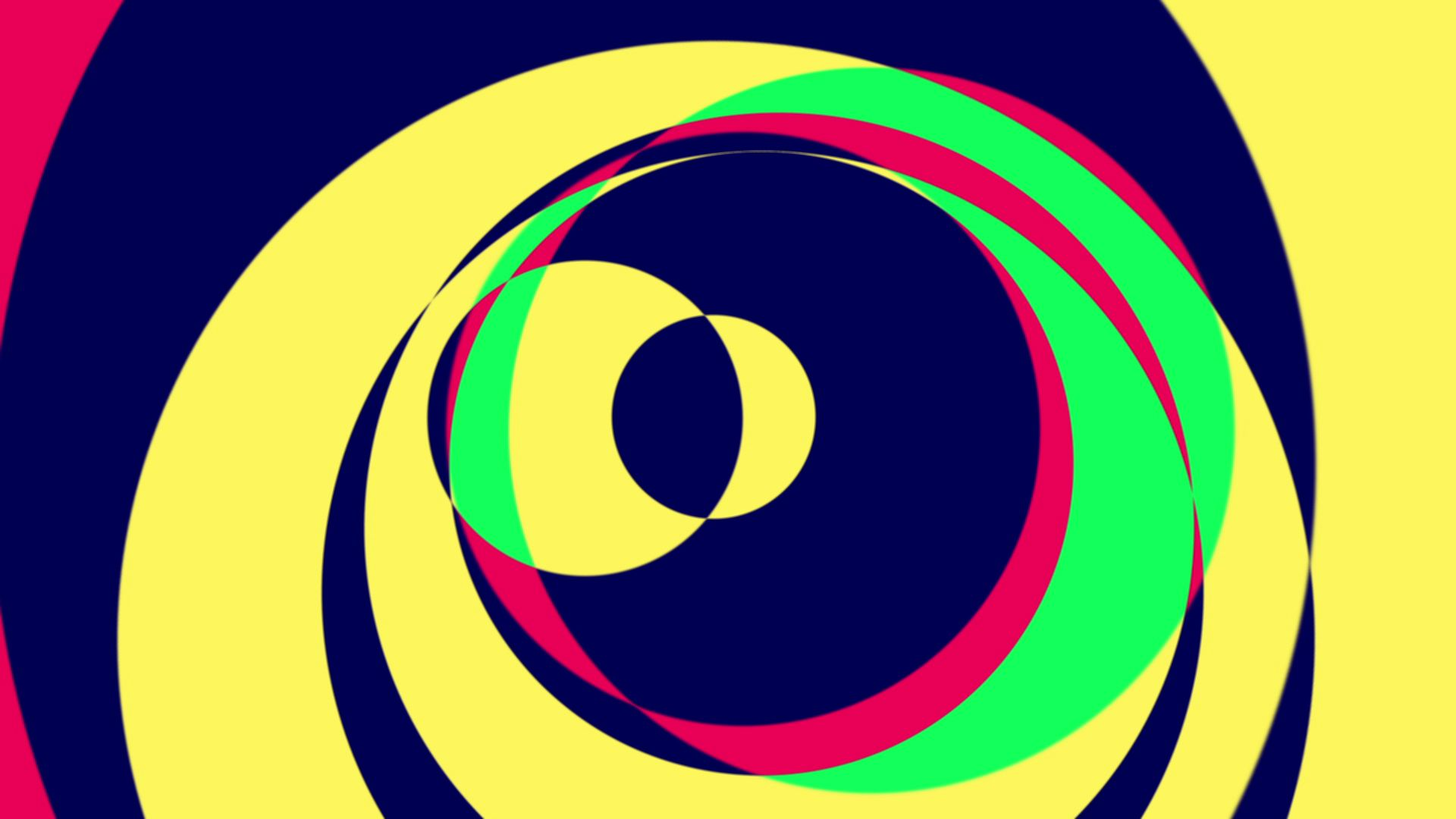 Psychedelic Circles 1 | downloops – Creative Motion Backgrounds