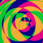 'Psychedelic Circles 2' - Colorful Graphical Motion Background Loop_Sample2