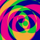 'Psychedelic Circles 2' - Colorful Graphical Motion Background Loop_Sample3