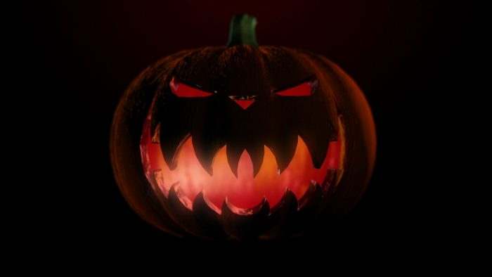 'Pumpkin 1' - Halloween Party Motion Background Loop_SampleStill