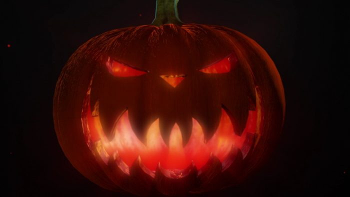 'Pumpkin 2' - Halloween Party Motion Background Loop_SampleStill