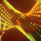 'Ravelings' - Moving Dots Motion Background Loop_Sample2