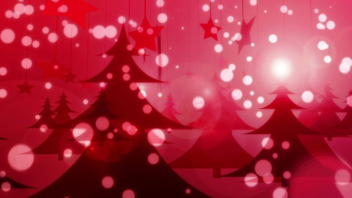'Red Christmas' - Glamorous Winter Motion Background Loop_SampleStill