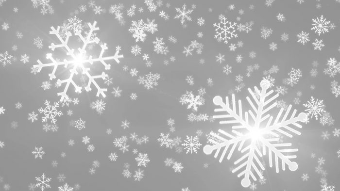 'Snowy 4' - Crystal Snowflakes And Christmas Motion Background Loop_SampleStill