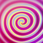 'Spirelli' - Funny Rotating Spiral Motion Background Loop_Sample2