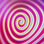 'Spirelli' - Funny Rotating Spiral Motion Background Loop_Sample3