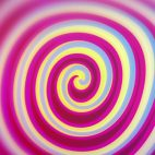 'Spirelli' - Funny Rotating Spiral Motion Background Loop_SampleStill