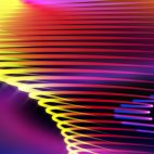 'Spirona' - Moving And Bending Colorful Strokes Motion Background Loop_Sample2
